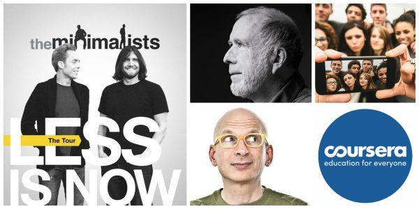 Seth Godin, Kevin Kelly, analytics en la oficina, millennials y minimalismo